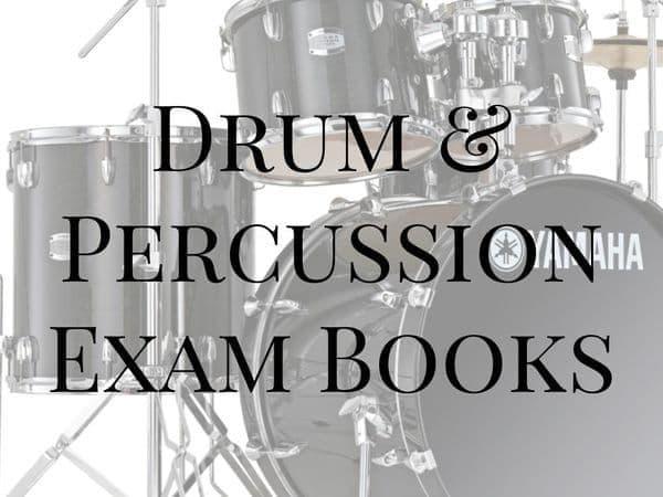 Drum & Percussion Exam Books